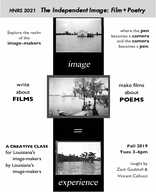 The Independent Image: Film + Poetry
