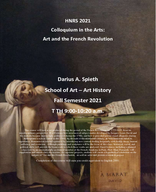 Art and the French Revolution