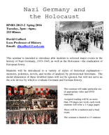 Nazi Germany and the Holocaust