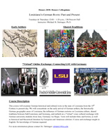 Louisiana's German Roots: Past and Present