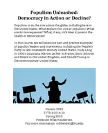 Populism Unleashed: Democracy in Action or Decline?