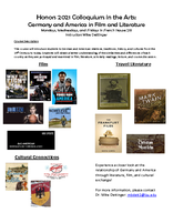 Germany and America in Film and Literature