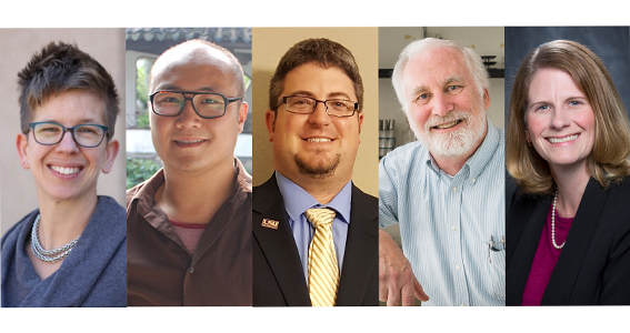The Ogden Honors College awards 5 professors with TAF Undergraduate Teaching Awards.