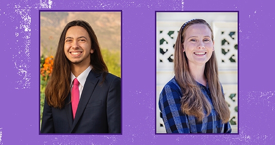 One LSU Ogden Honors Student Named 2019 Scholar, Another Receives Honorable Mention