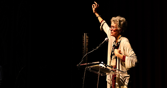 Professor Arlie Russell Hochschild Speaks at 2017 Honors Convocation