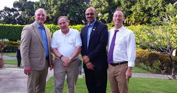 LSU Representatives join Governor Edwards on trade mission to Cuba