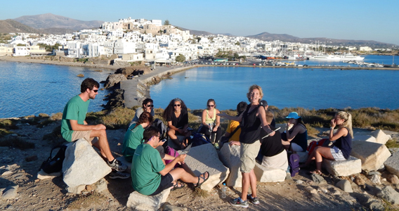Ogden Honors students study abroad in Greece