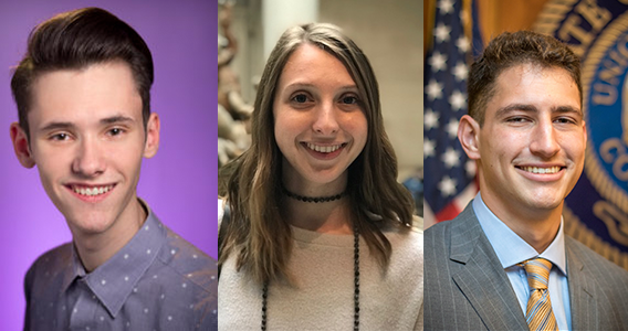 LSU Endorses Three Students for Gates Cambridge, Marshall and Rhodes Scholarships