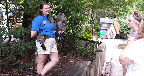 Brianna Dannehl Talks about Her Wild Experience at Zoo Atlanta