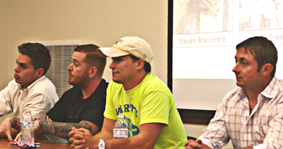 LSU Honors Hosts Student Veterans Panel