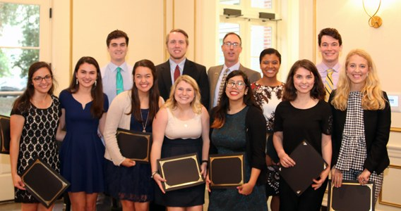 The Ogden Honors College Holds 2017 Awards and Recognition Ceremony