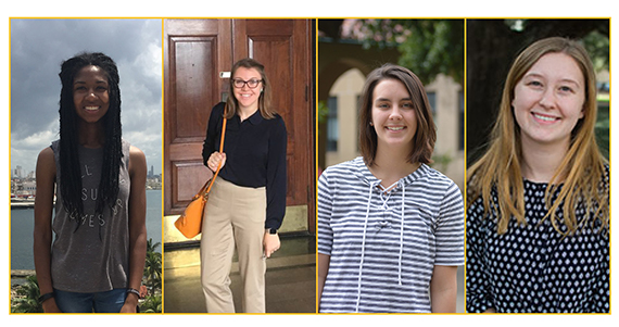 Four Honors Students Chosen as LSU's 2018 Truman Nominees