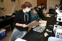 Students Use Laboratory to Study Impacts