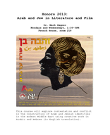 Arab and Jew in Literature and Film