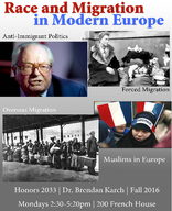 Race and Migration in Modern Europe