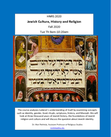 Jewish Culture, History, and Religion