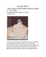 Sexuality in the Arab-Islamic World