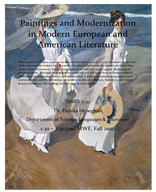 Paintings and Modernization in Modern European and American Literature