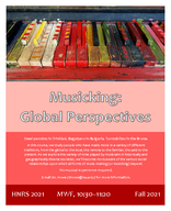 Musicking: Global Perspectives