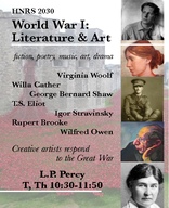 World War I:  Literature & Art