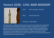 Civil War Memory