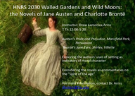 Walled Gardens and Wild Moors: the Novels of Jane Austen and Charlotte Brontë