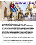 Contemporary Cuban Culture and Society: Arts and Activism in Cuba
