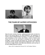The Films of Alfred Hitchcock