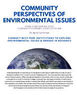Community Perspectives of Environmental Issues