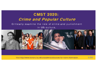 Crime and Popular Culture
