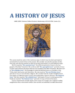 A History of Jesus