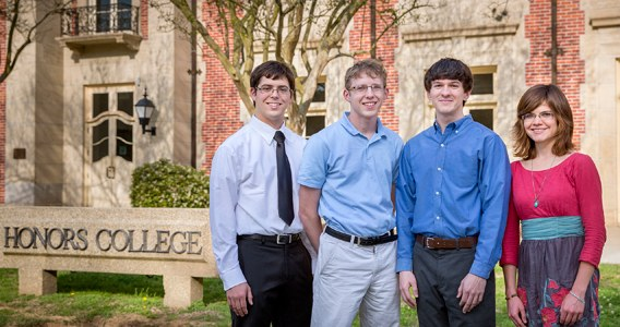 LSU Honors Students Receive 2014 Goldwater Scholarships