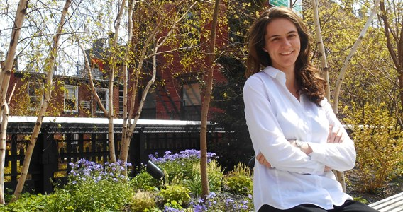LSU Honors' Erin Percevault Named 2014 Olmsted Scholar