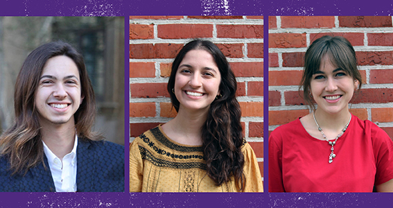 Three Ogden Honors Students Chosen as LSU's 2019 Truman Nominees