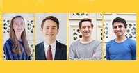 Four LSU Students Nominated for 2019 Goldwater Scholarship