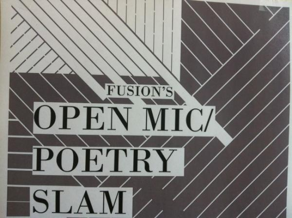 Fusion to Host Open Mic Night and Poetry Slam