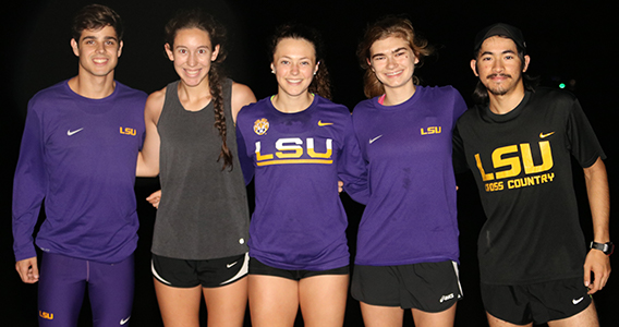 LSU Cross Country Members Share Their Honors College Experiences