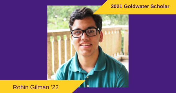 Honors College Student Becomes LSU's 38th Goldwater Scholar