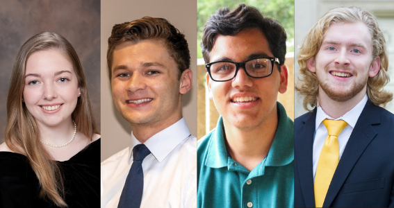 LSU Nominates Four Students for Goldwater Scholarship