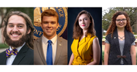 LSU nominates four students for Rhodes and Marshall Scholarships to the UK