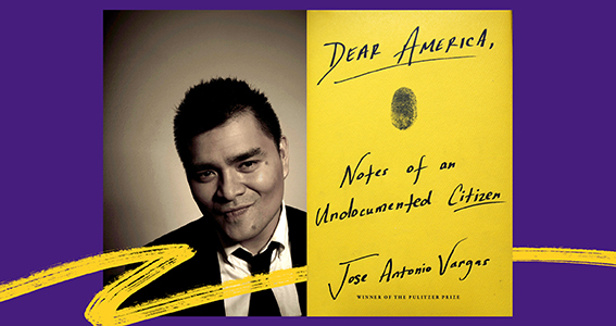 Ogden Honors College Announces Dear America, Notes of an Undocumented Citizen as Shared Read