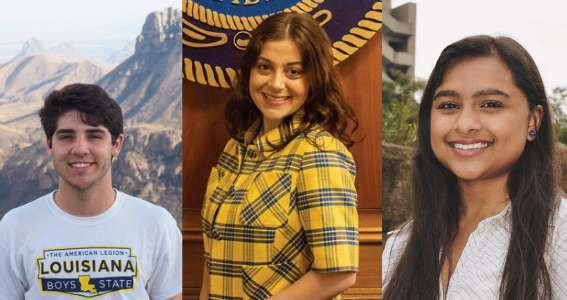 Three Ogden Students Selected as Finalists for the Truman Scholarship
